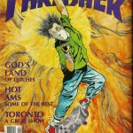 "Capa "" Fire Pick"" – Thrasher Magazine – 1987"