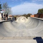 Nova Skatepark de concreto do Bob – 2014