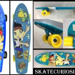Skate de Plástico –  Pirate Jake