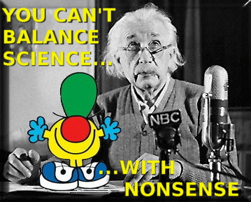 einstein-science-false-balance