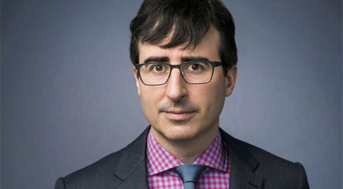 John Oliver promotes real science – a comedian gets it right