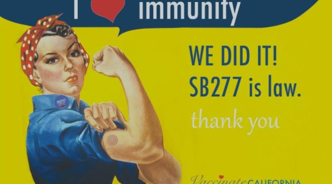 California SB277 lawsuit – updated, but still baseless