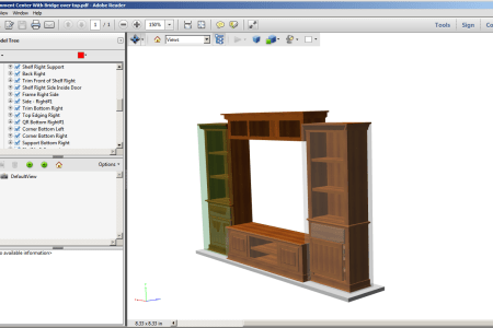 3d pdf cabinet design software