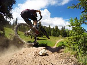 Snowmass mountain biking park