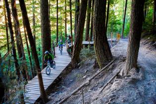 Whistler Blackcomb mountian biking
