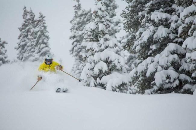 Aspen Powder Day, Aspen snow storm