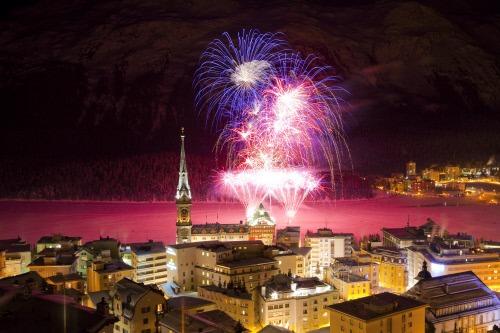 Engadin St. Moritz fireworks