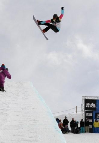 Kelly Clark - Women's Snowboard Halfpipe