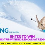 Last chance! Enter to win a cat skiing trip