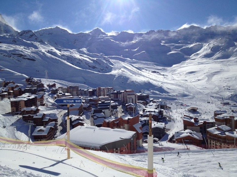 Val Thorens snow storm, Val Thorens ski vacation