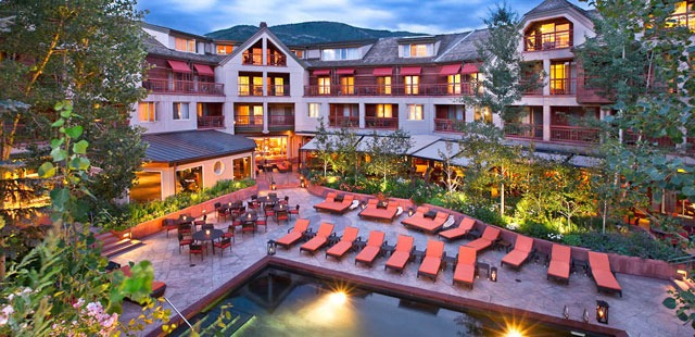 The Little Nell Hotel in Aspen