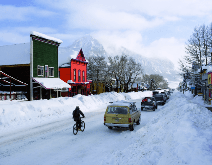 Crested Butte receives seven feet of snow in two weeks!