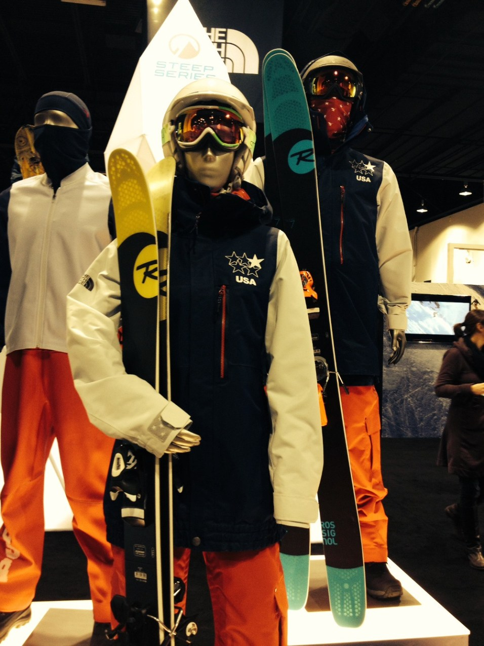 The North Face Official U.S. Freeskiing Uniforms