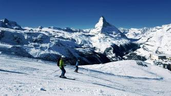 zermatt glacier skiing, matterhorn glacier paradise