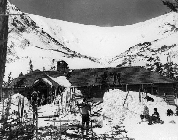 Tuckerman Ravine shelter 1938