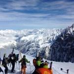 Skiing Chamonix's Vallée Blanche