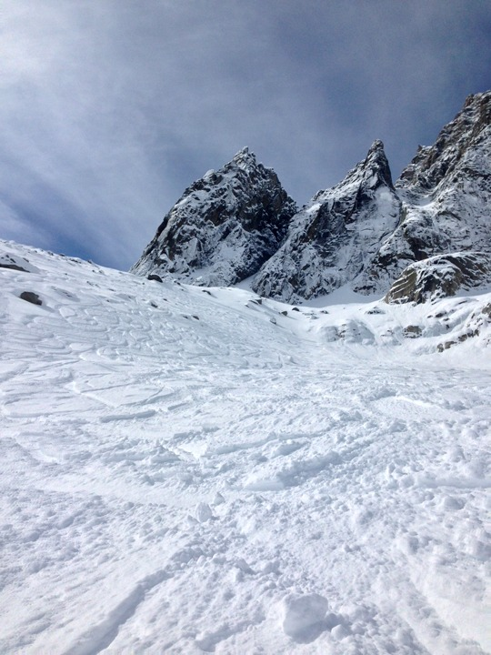 Vallee Blanche powder day