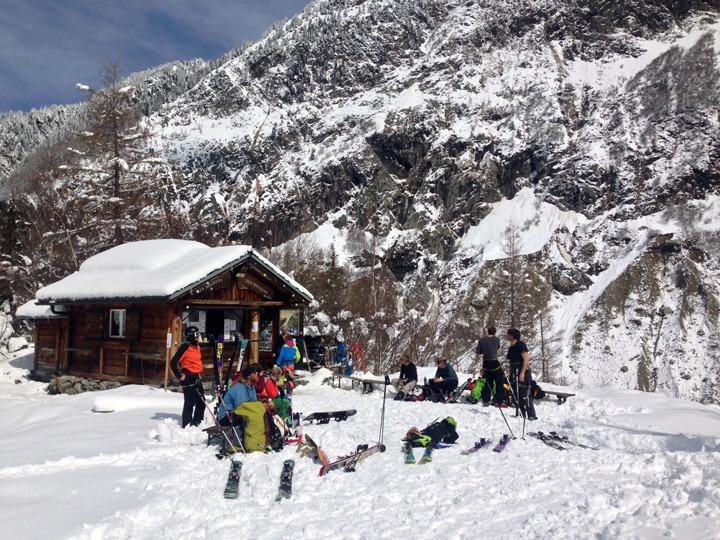 Vallee Blanche refuge hut