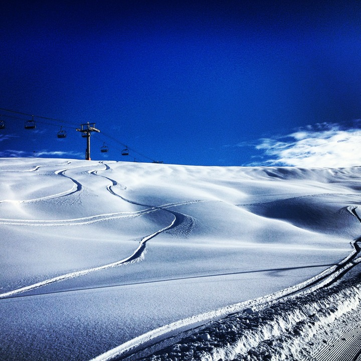 Powder day in Valle Nevado