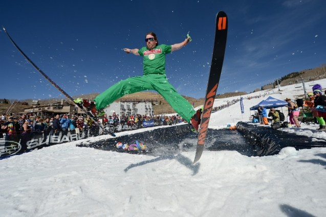 Crested Butte Closing Day, Crested Butte pond skim