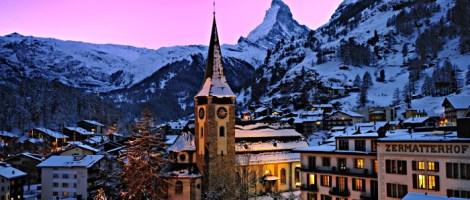 At the foot of the iconic Matterhorn is the Swiss storied ski town of Zermatt. | Photo: Zermatt Tourism