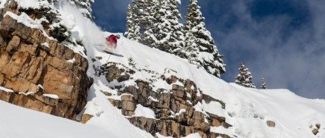 Along the Wall you can send some small to large cliffs. | Photo: Jeremy Swanson/Snowmass