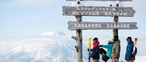 first Japan ski trip, Rusutsu ski resort, Rusutsu Japan