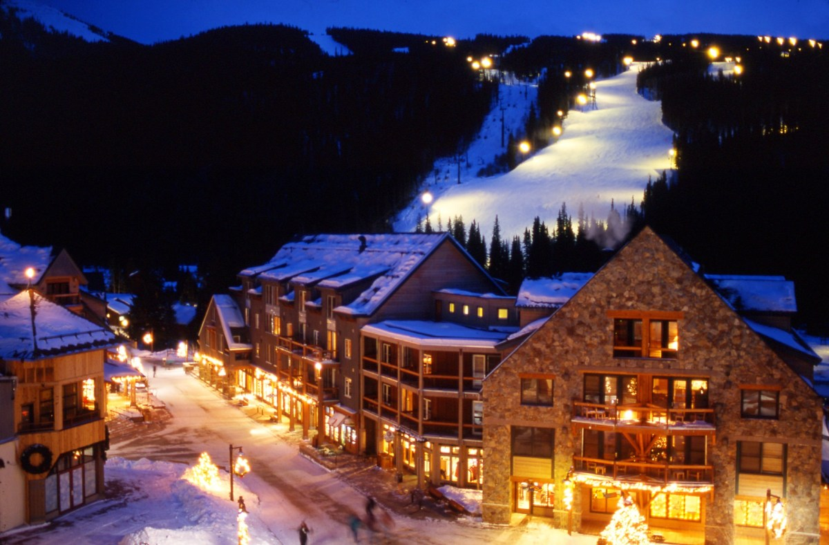 Where can I go night skiing out West?
