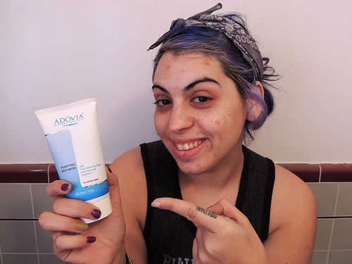 Beauty Bees: Adovia Dead Sea Mud Facial Mask Review