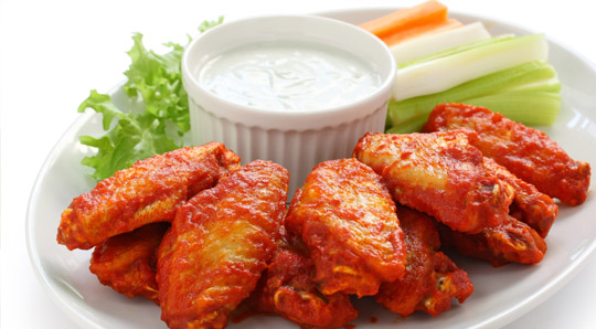 Skinny's Chicken Wings