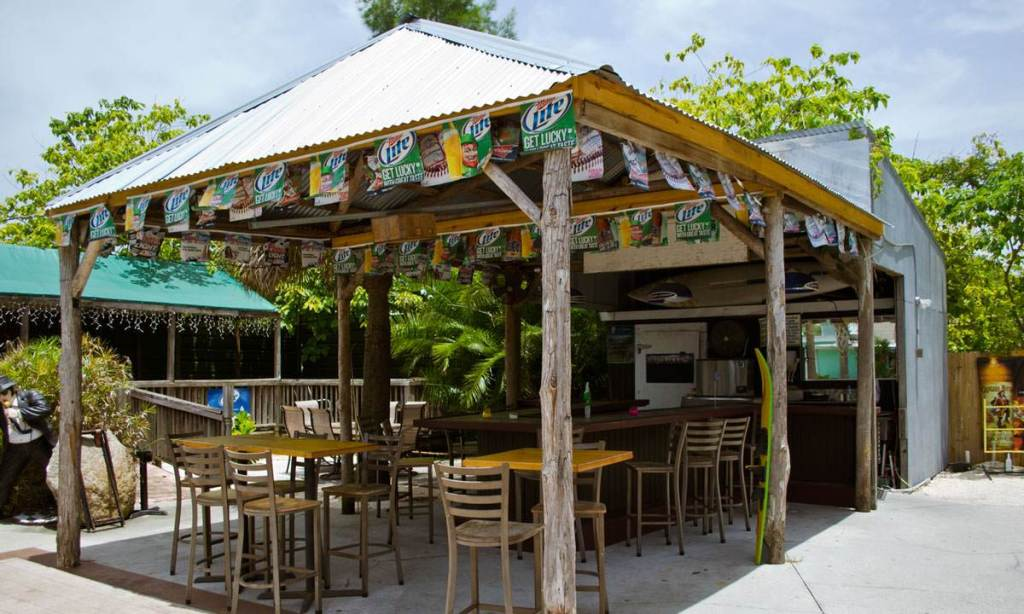 Skinny's Tiki Bar Out Back