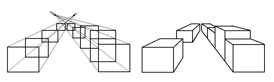anleitung zum zeichnen von 3d objekten vorlagen. Black Bedroom Furniture Sets. Home Design Ideas