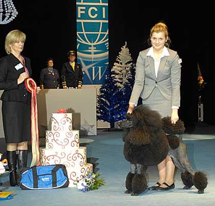 Vinnare NM junior handling 2011