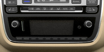 - FM-Frequenzband - Telefonfreisprecheinrichtung Bluetooth - USB-Anschluss - SD-Karten-Slot - Aux-In Anschluss