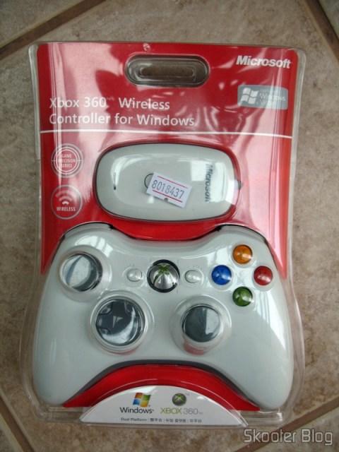 Controle De Jogos Com Receptor USB Para PCXBox 360 Sem Fio 24GHz Microsoft Original Genuine