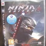 Ninja Gaiden Sigma 2 do PS3, na caixa ainda lacrada
