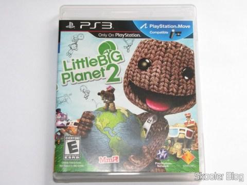 Capa do LittleBigPlanet 2 (PS3)