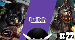 الحلقة رقم 22 من EGN :  تأجيل Battlefield Hardline ,  صفقة بيع Twitch لـGoogle و جزء جديد من Bioshock ??