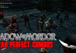Gameplay : Shadow of Mordor near perfect combos