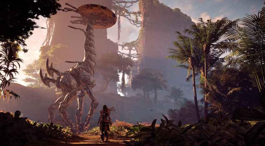 فيديو جديد للعبة Horizon Zero Dawn عن الوحوش الالية في عالم اللعبة