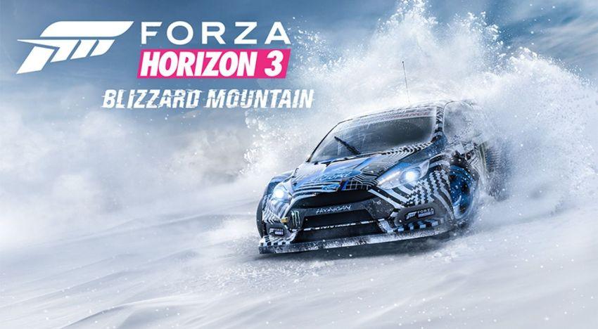 اول تفاصيل عن اضافة Blizzard Mountain للعبة Forza Horizon 3