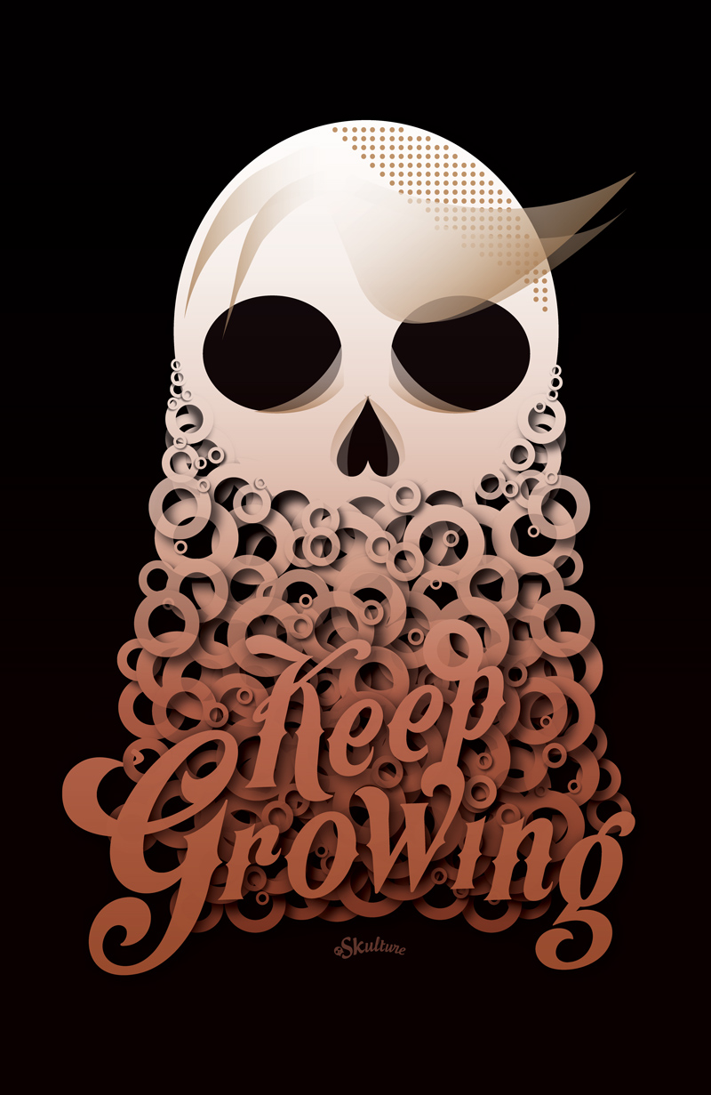 """Keep Growing"" poster"
