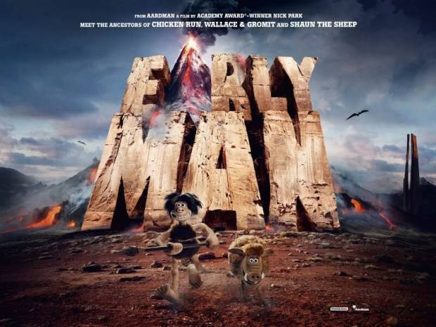After a decade away from features, Nick Park is back to direct Early Man(due 2018)