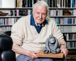 Sir David Attenborough honoured – Aardman style!
