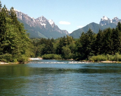 south fork Skykomish River Washington