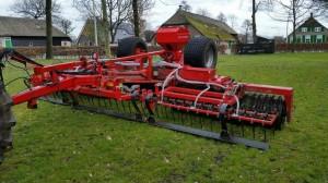 He va Grass Roller 6 m breed