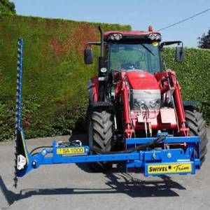 Slanetrac Front-Loader Finger Bar Hedgecutter