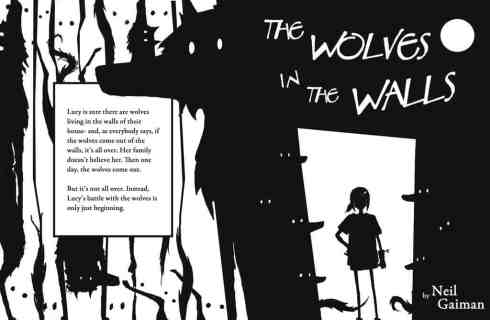 Wolves In The Walls Silhouette Only
