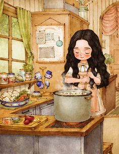 The Diary Of A Forest Girl by illustrator Aeppol