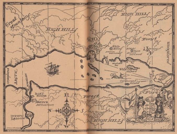 Swallows and Amazons Map